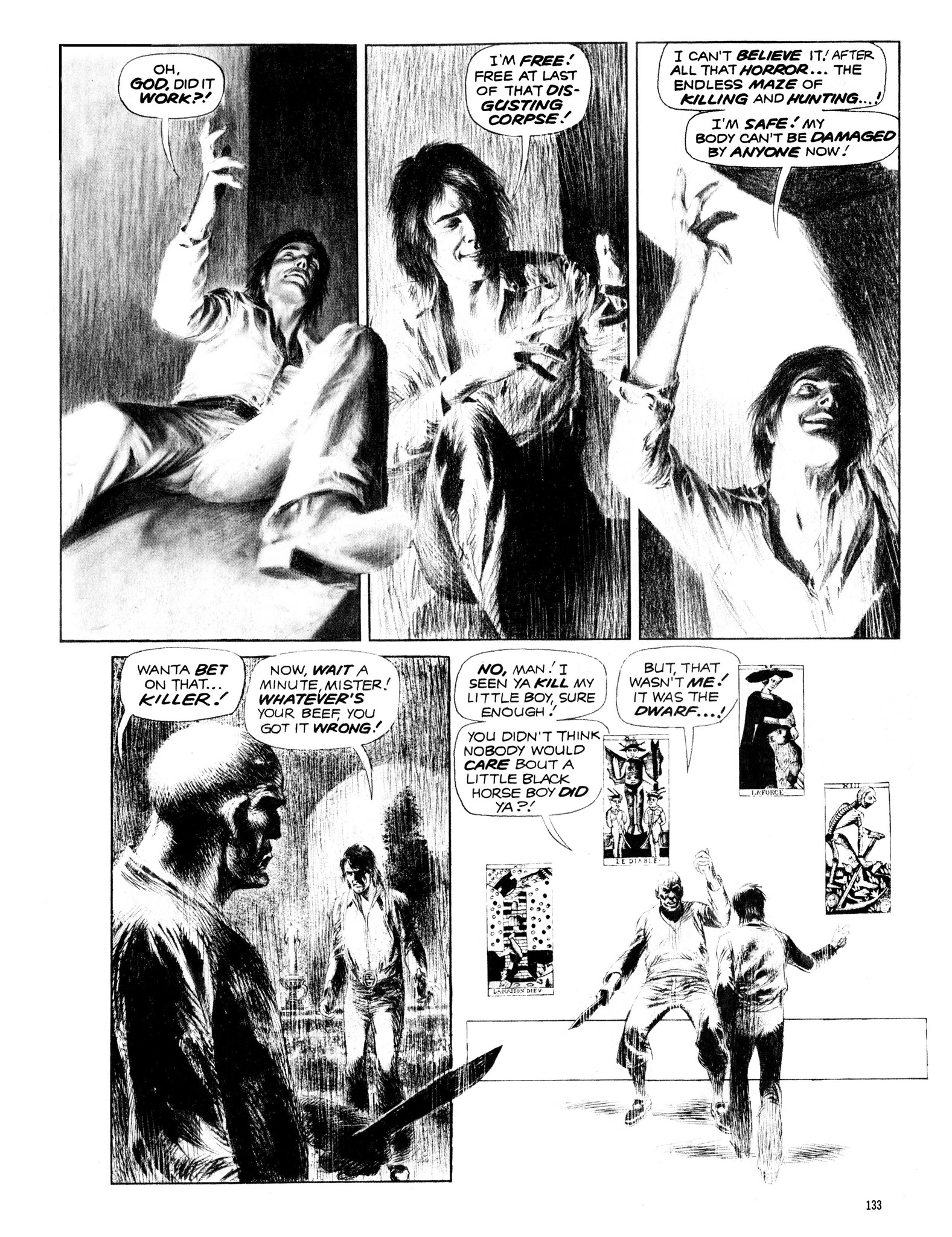 Read online Eerie Archives comic -  Issue # TPB 13 - 134
