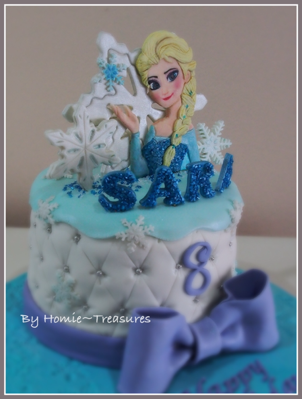 frozen elsa birthday cake hong kong image inspiration of my humble