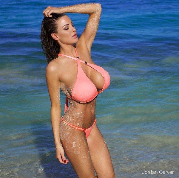 Hot girls Jordan Carver sexy super boobs teacher 6