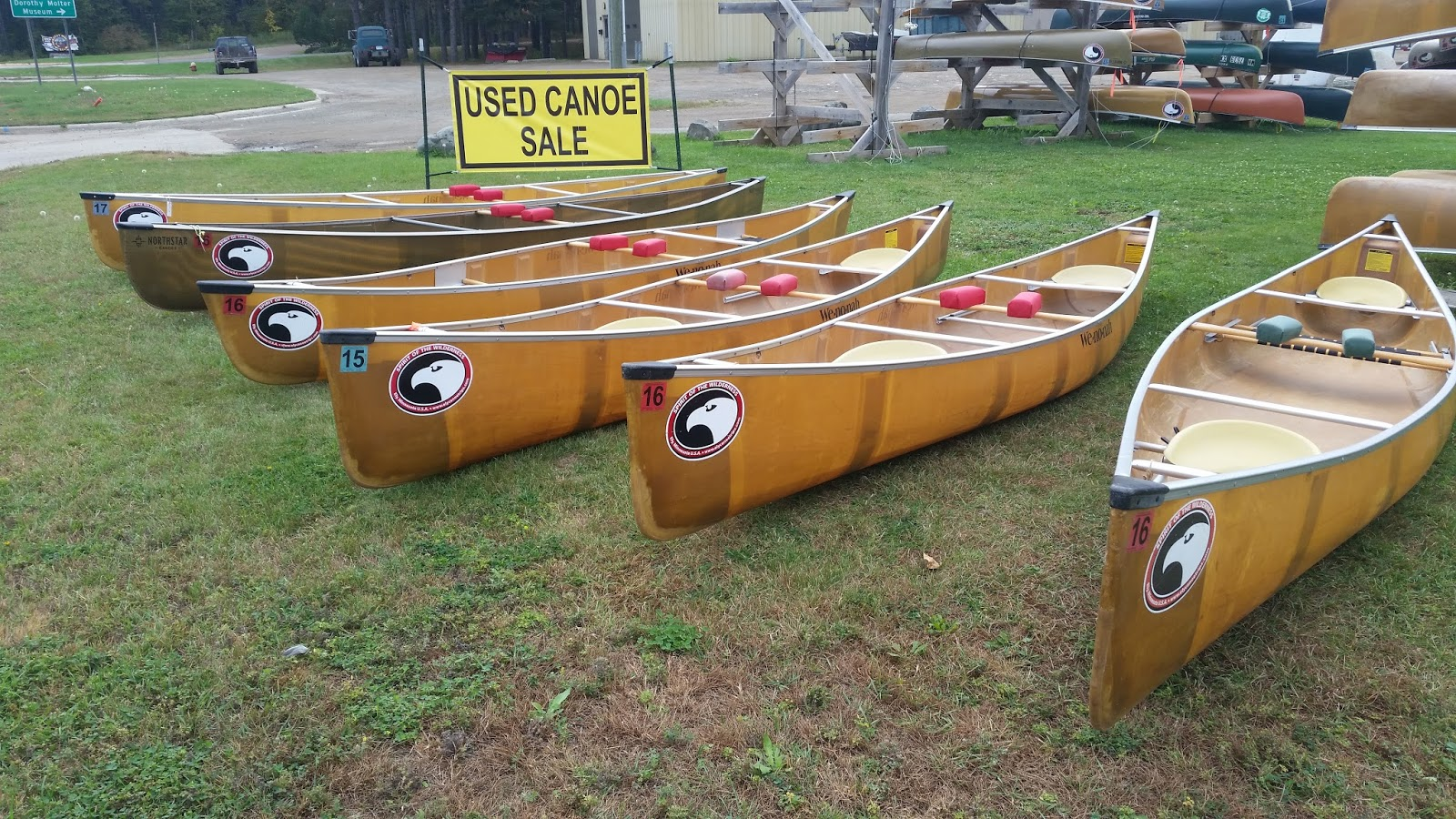 Spirit of the Wilderness News: Used Canoes, Kayaks & SUP Board Sale