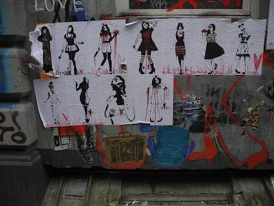 Poster - Scary Girls - Blutig und vermutlich fast tod... Hamburg