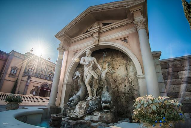 Pavilhão da Itália, no Epcot