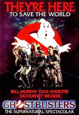 Poster Of Ghostbusters (1984) In Hindi English Dual Audio 300MB Compressed Small Size Pc Movie Free Download Only At worldfree4u.com
