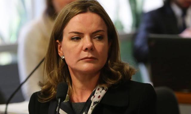 Gleisi Hoffmann roubou 1 milhão da Petrobras