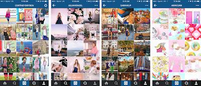 Instagram-Branding-Timeline-Examples