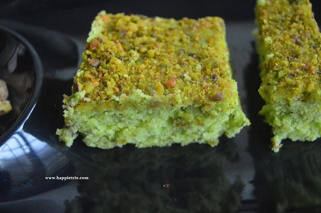 Pistachio Cake Recipe | How to make Pista Cake