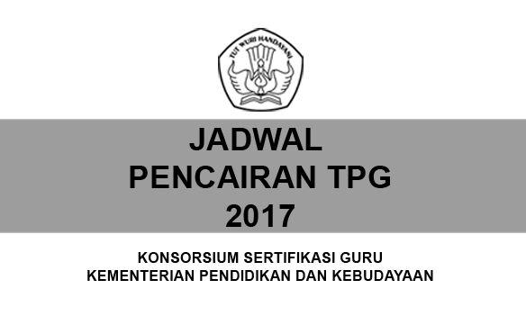 Jadwal Pencairan TPP Triwulan I, II, III, dan IV Tahun 2017