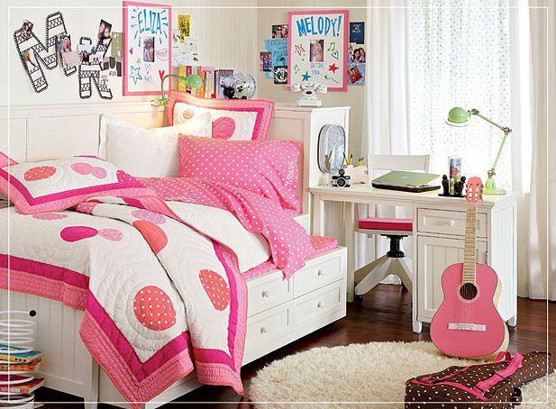 Dormitorios con muebles rosa para adolescentes ideas for Habitacion rosa para chicas