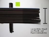 Wirkung Stapel Karten: ORA-TEC Neodym-Supermagnete für Glas/Magnetboards und andere Metallgegenstände (8x2mm 20 Stück)