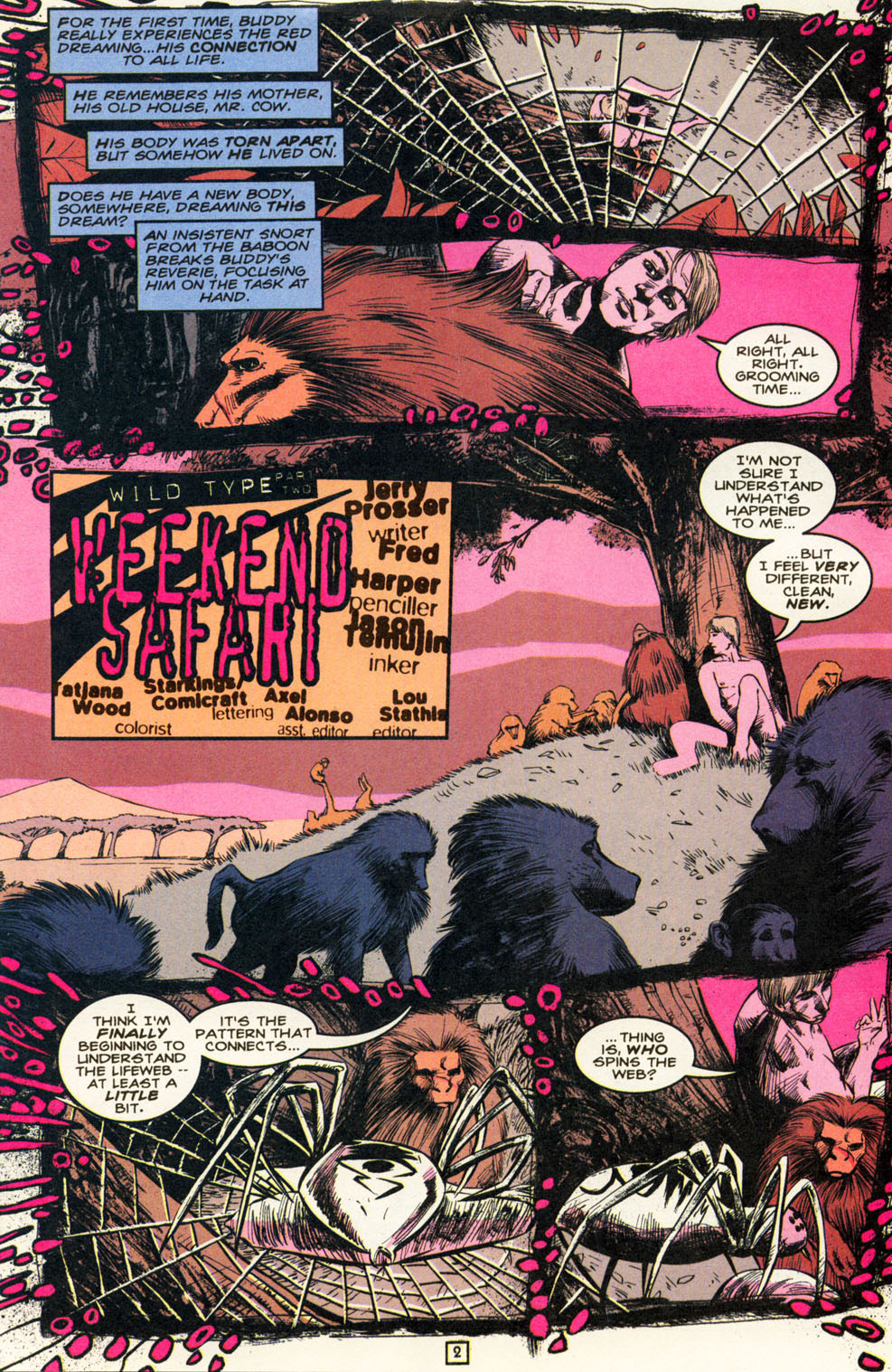 Read online Animal Man (1988) comic -  Issue #82 - 3