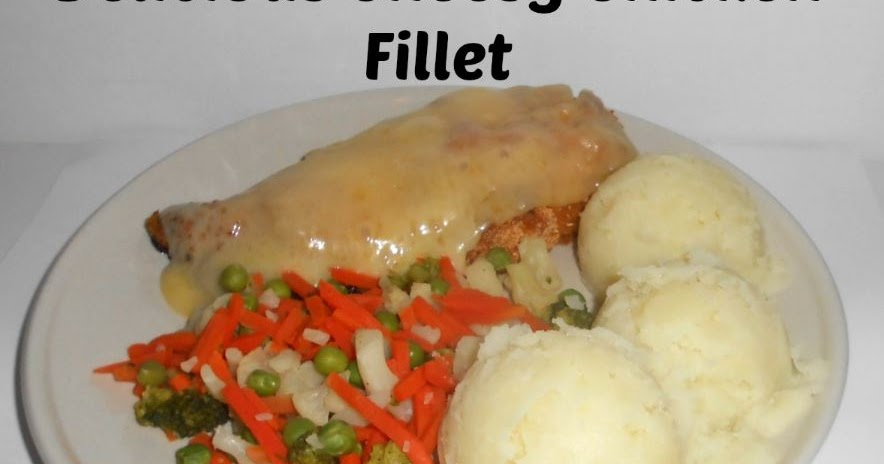 Rosie's Cottage: Delicious Cheesy Breaded Chicken Fillets