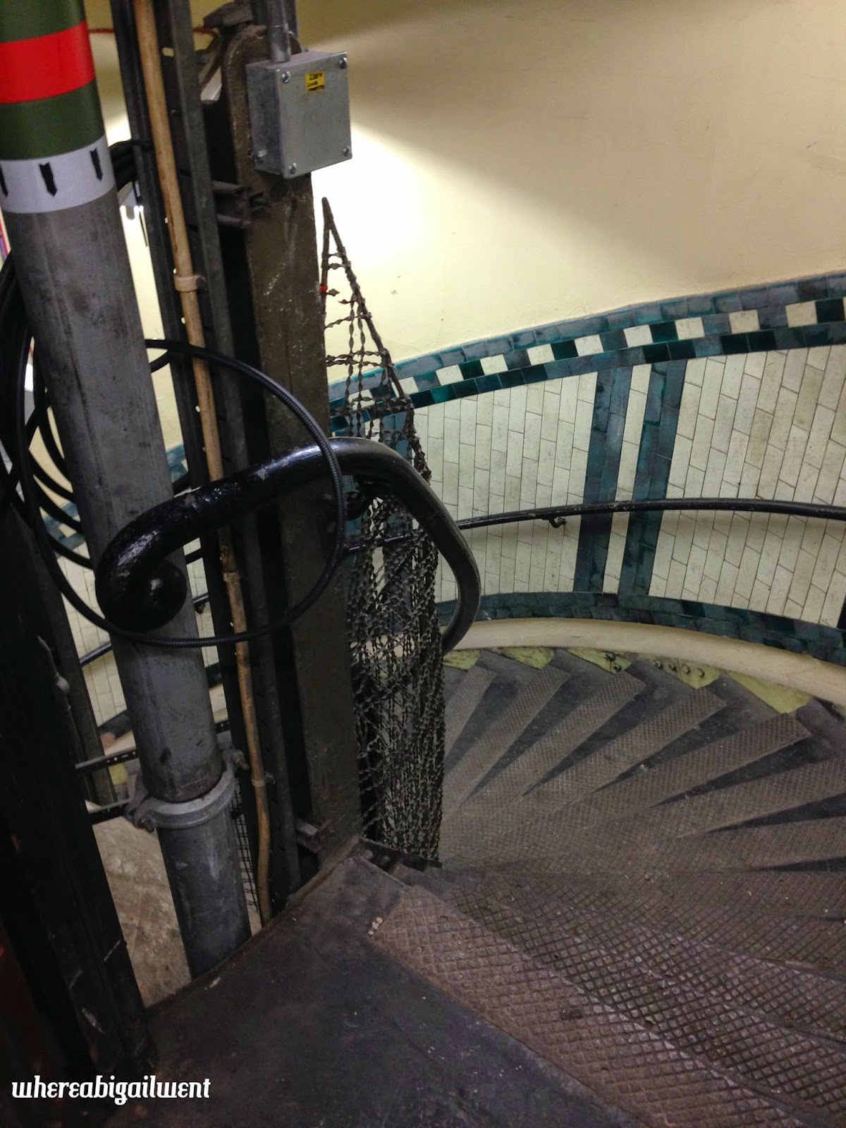 Tube Staircase Aldwych