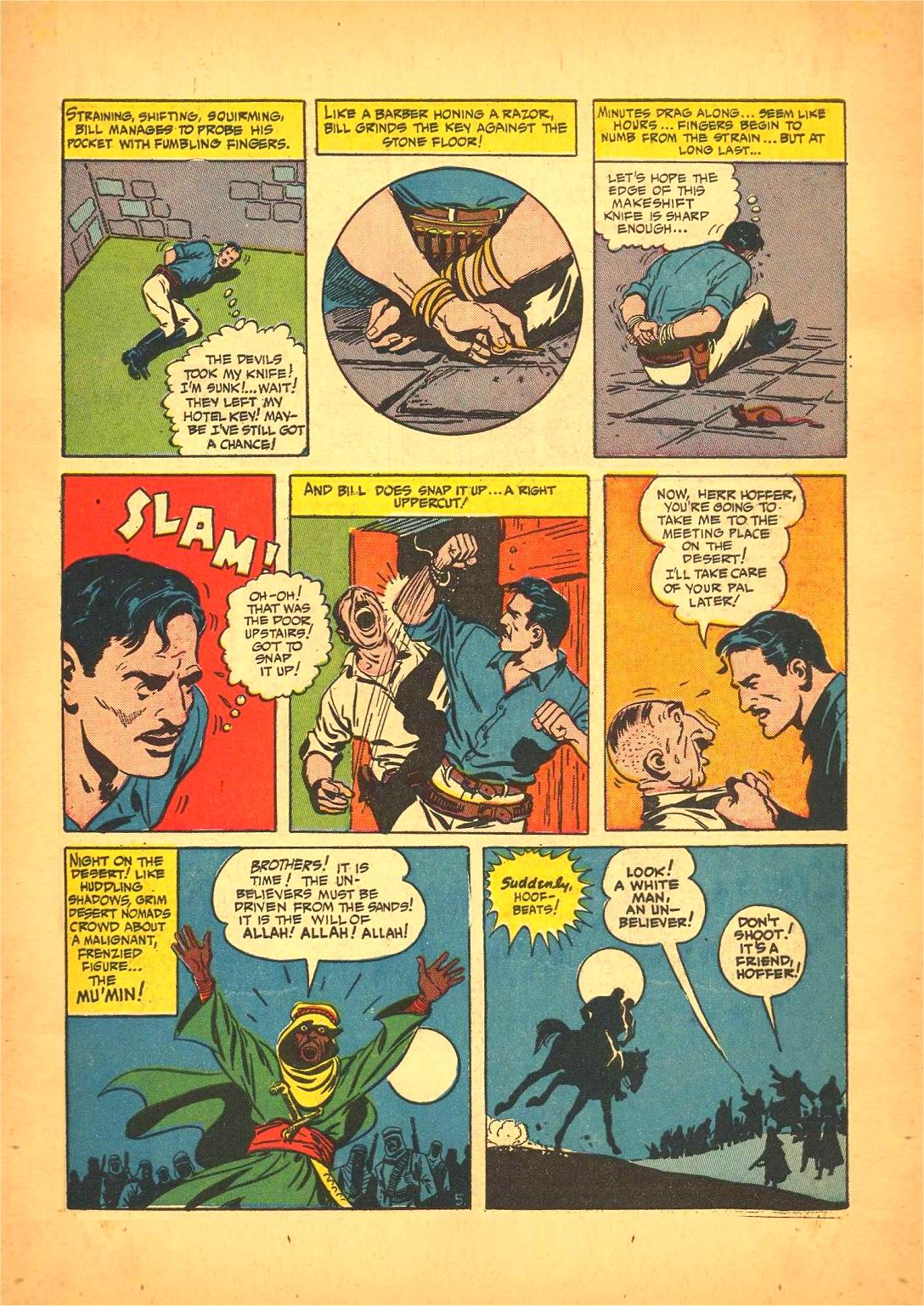 Read online Action Comics (1938) comic -  Issue #50 - 61