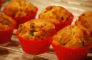 Olive and Rosemary Muffins