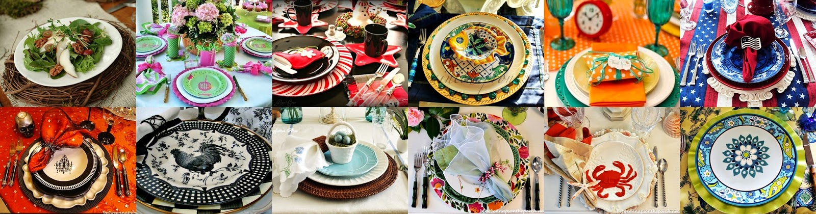 Over the last few months I have been seeking out different \u0027Thanksgiving\u0027 and Fall tablescapes. In my search I have come across the ever faithful charger ... & The Domestic Curator: CURRENT OBSESSIONS: Charger Plates \u0026 How To ...