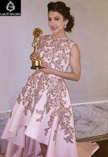 Look Gauhar Khan in a gorgeous look at Punjabi Film Awards