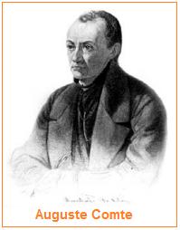 Pengertian sosiologi menurut Auguste Comte