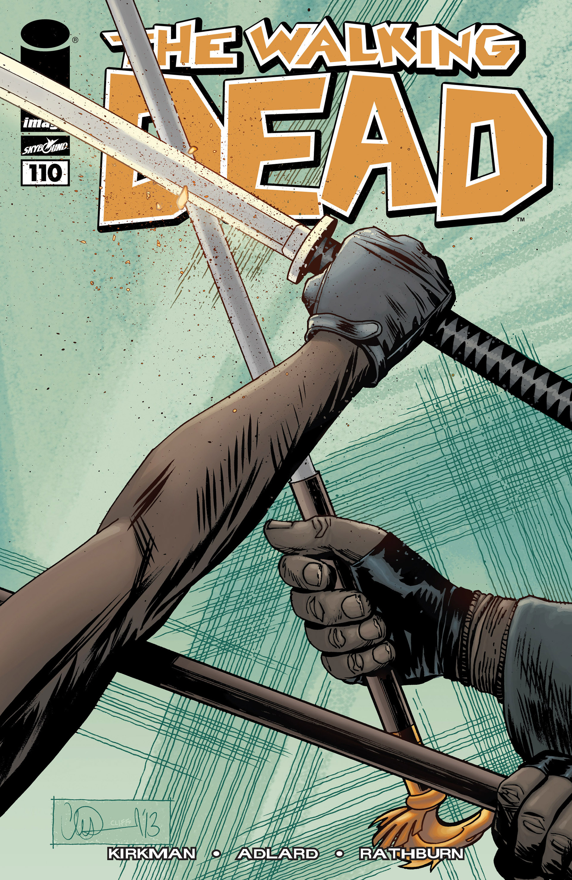 The Walking Dead 110 Page 1