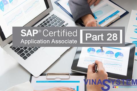 Bộ câu hỏi chứng chỉ SAP Business One (Phần 28)
