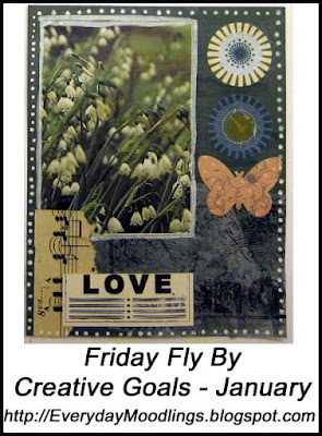 Friday Fly By January Collages