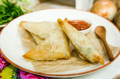 Leftover Mashed Potato Samosas. Foto: Sherri Brooks Vinton, on Hallmark Channel