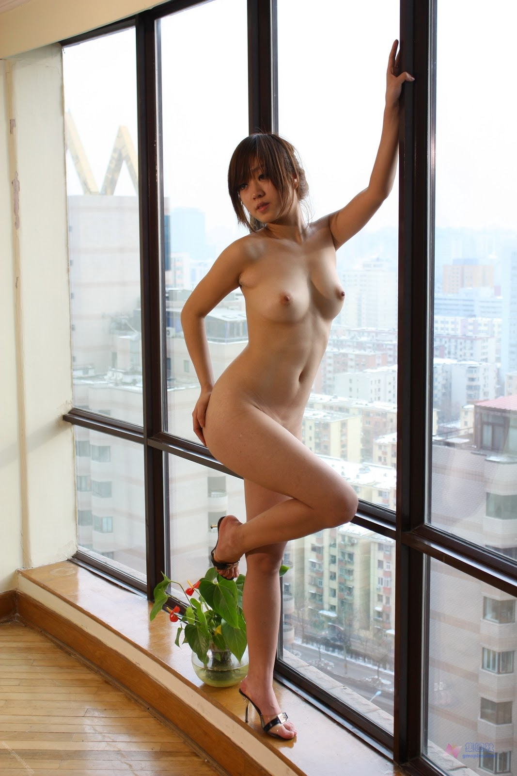 Unknown Asian Nude Model With Nice Boobs  The Gutter -6199