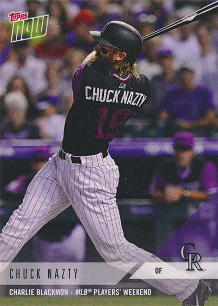 77c9fd463 Condition Sensitive  Rockies Topps Now Player s Weekend Review