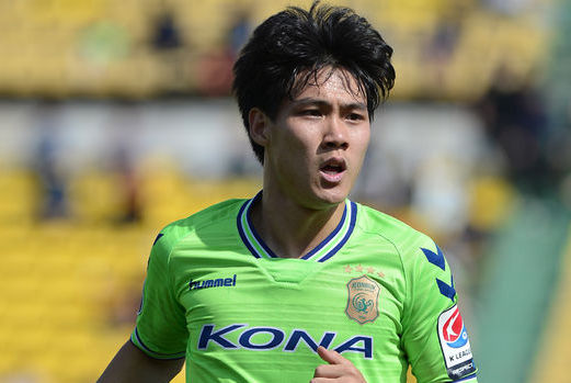 Jeonbuk Hyundai Motors Choi Chul-soon featuring in round 10's best eleven for his performance against Daegu.
