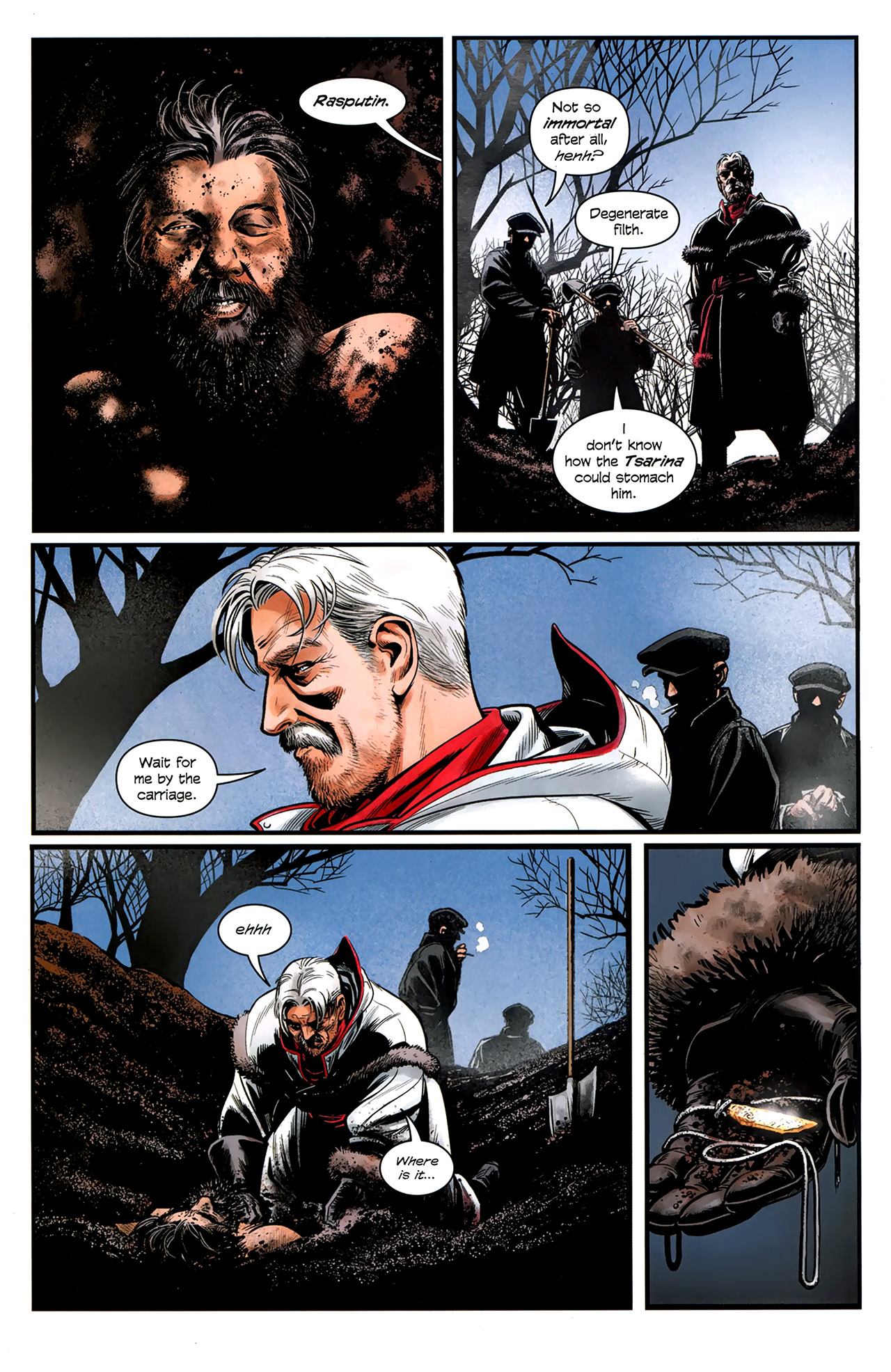 Read online Assassin's Creed: The Fall comic -  Issue #3 - 23
