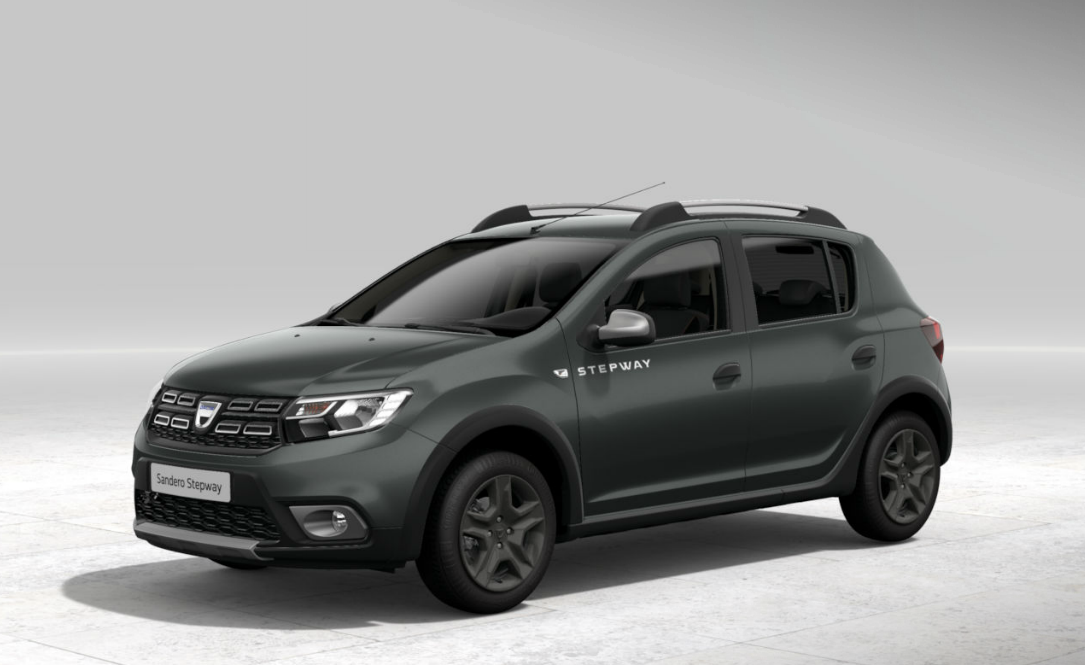 dacia sandero stepway 2018 couleurs colors. Black Bedroom Furniture Sets. Home Design Ideas
