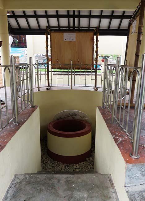 Sumur Gumuling di Museum Sejarah Purbakala Pleret