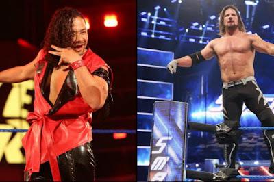 WWE WrestleMania 34 AJ STYLES Nakamura SmackDown Live