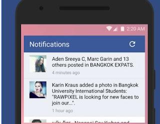 facebook notifiche e messaggi