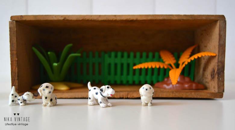 revista, online, diorama, diy, dalmata, perros, hazlo tu mismo, handmade, tutorial,
