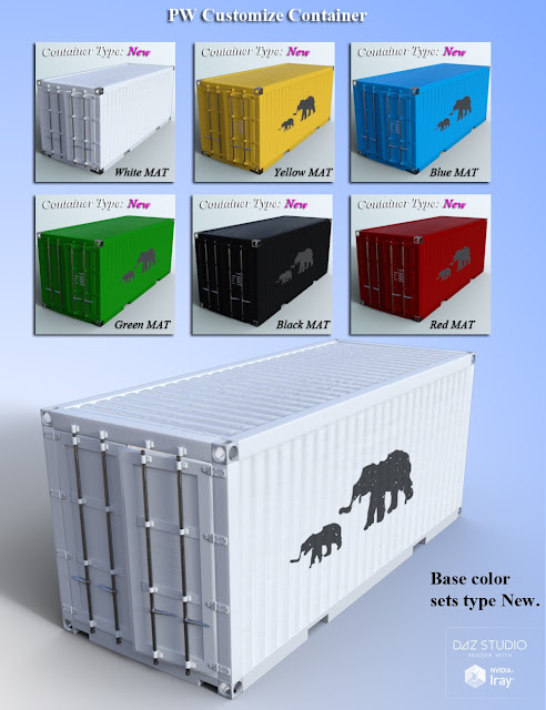 PW Customize Container