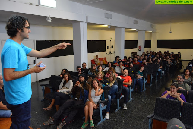 Cerca de 200 participantes de La Palma Rueda afrontan el reto de crear su propio cortometraje con el lema 'Ha llegado el momento'