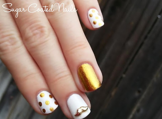 Sugar Coated Nails: Movember Manicure