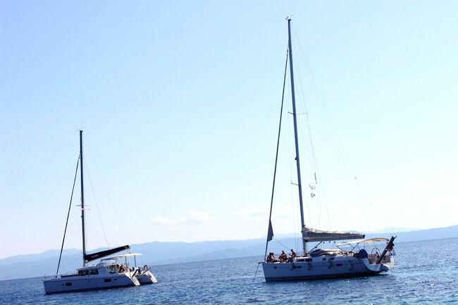 Tsougkria island trips
