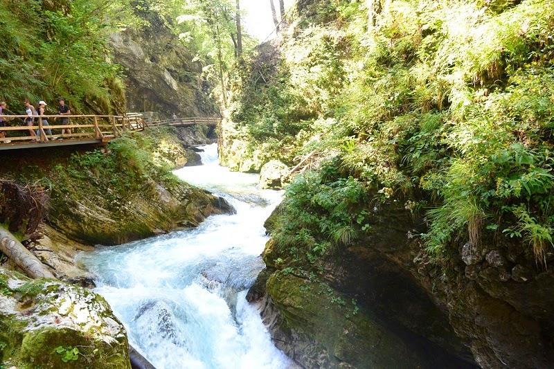 gorges du vintgar, Slovénie, bled,  voyage, europe