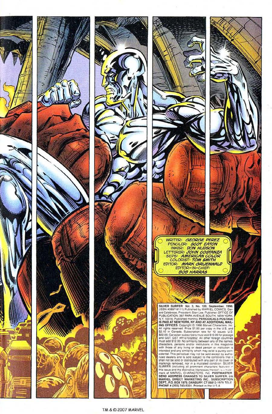 Read online Silver Surfer (1987) comic -  Issue #120 - 5
