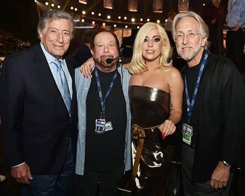Lady Gaga e Tony Bennett no Grammy neste fim de semana