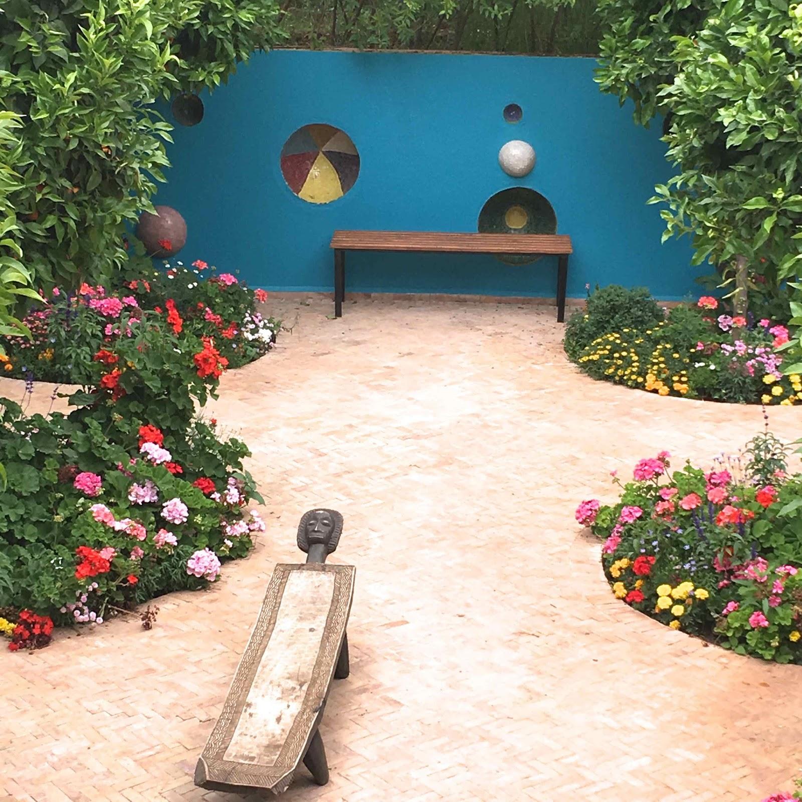 Marrakech, nature, art and architecture in Anima garden