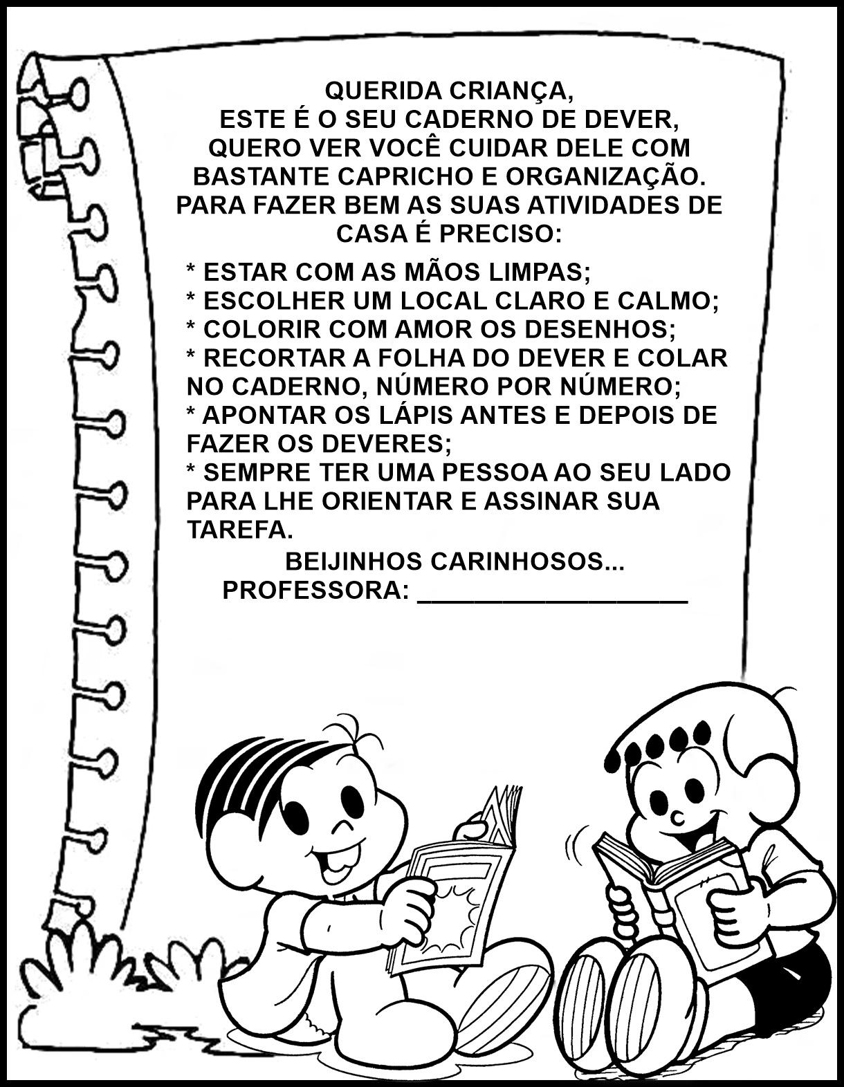 Pequenos Grandes Pensantes Capas Para Cadernos Educação Infantil