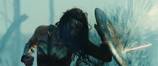 Gal Gadot Wonder Woman action scene trailer