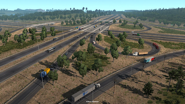 American Truck Simulator Update 1.32 Open Beta Screenshots