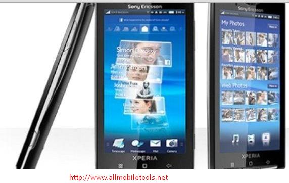 Sony Ericsson Xperia X10-Android 2.3.3 Latest Stock ...