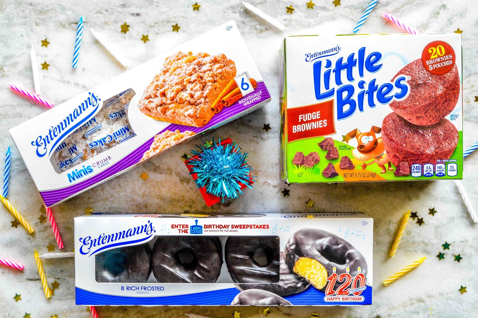 Theresa's Mixed Nuts: Entenmann's® 120th Birthday Giveaway