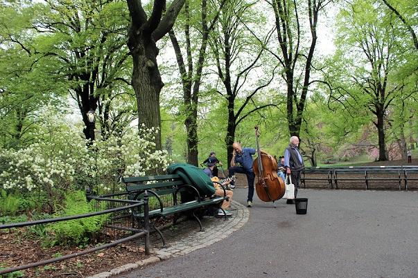 Sagofigurer i Central Park