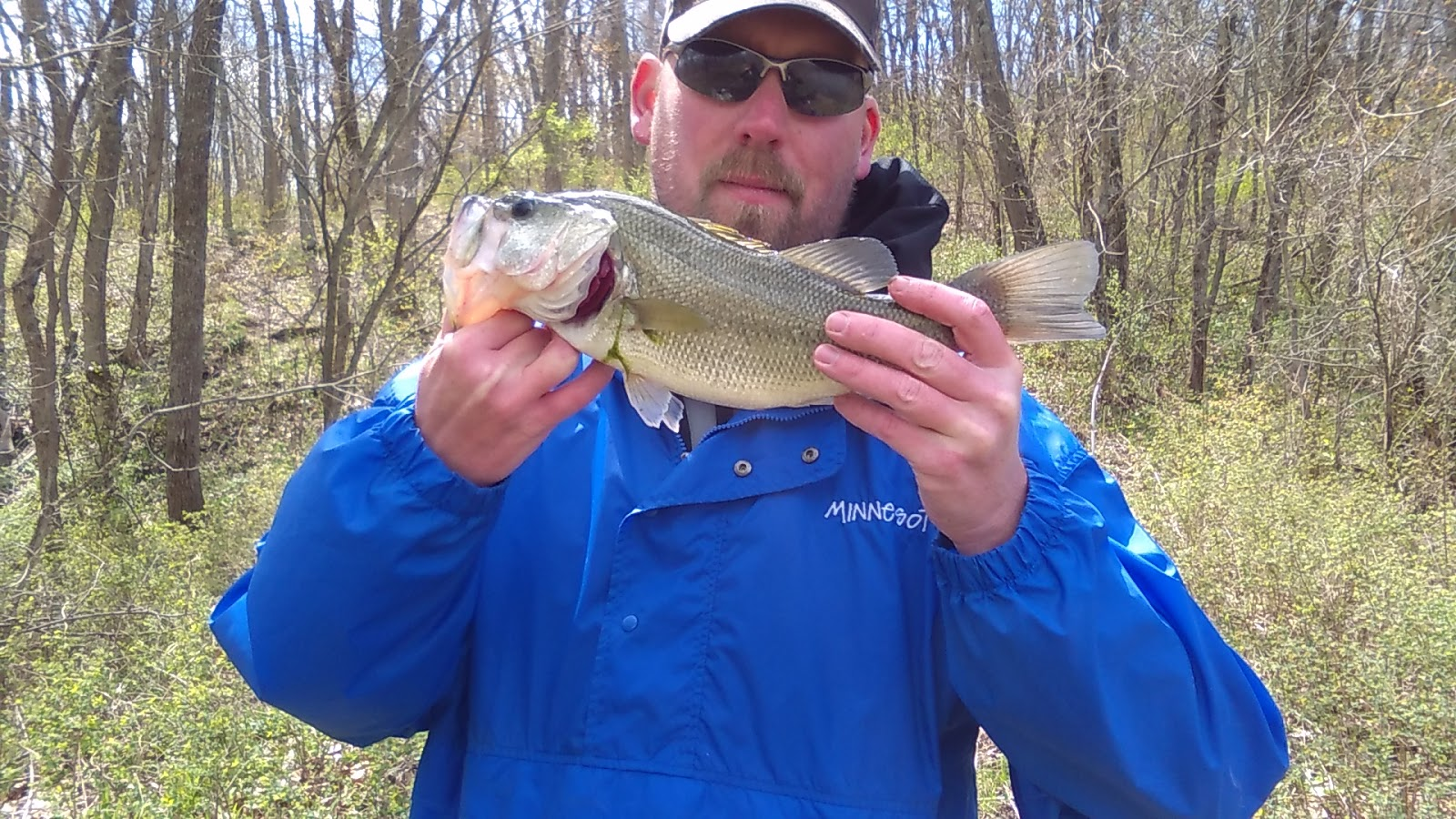 An average missouri outdoorsman did a little fishing this for Missouri bass fishing