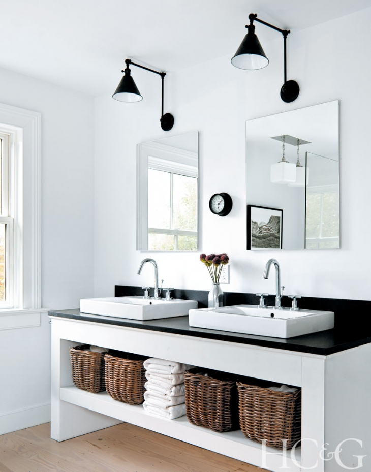 Trend alert black swing arm lamps in home decor - Different interior design styles ...